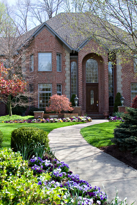 brick-home-house-curb-appeal-walkway-garden-landscape-photo-photos