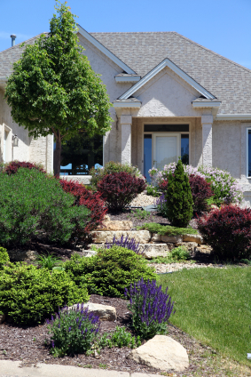 Front Garden Designs Pictures on Home Curb Appeal Photos You Can Use To Gather Landscape Design Ideas