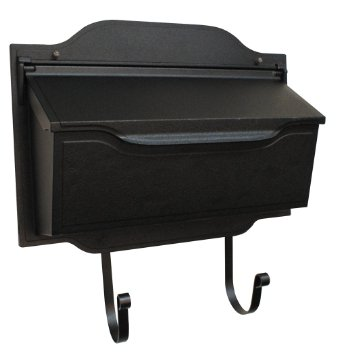 Special-Lite-Products-SHC-1002-BLK-Contemporary-Horizontal-Mailbox-Black