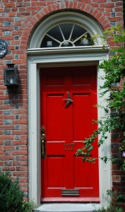 Red Front Door What Does A